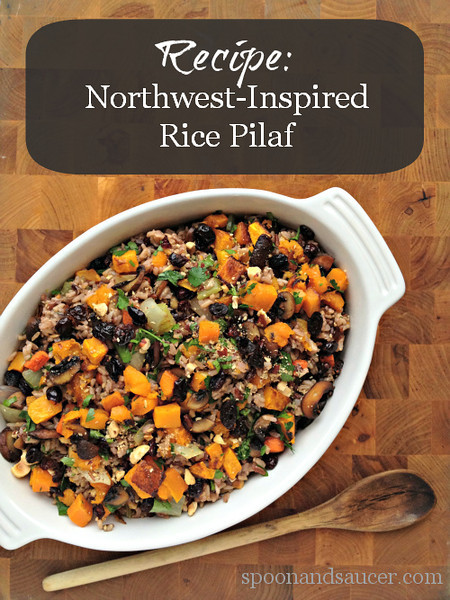 Northwest-Inspired Rice Pilaf